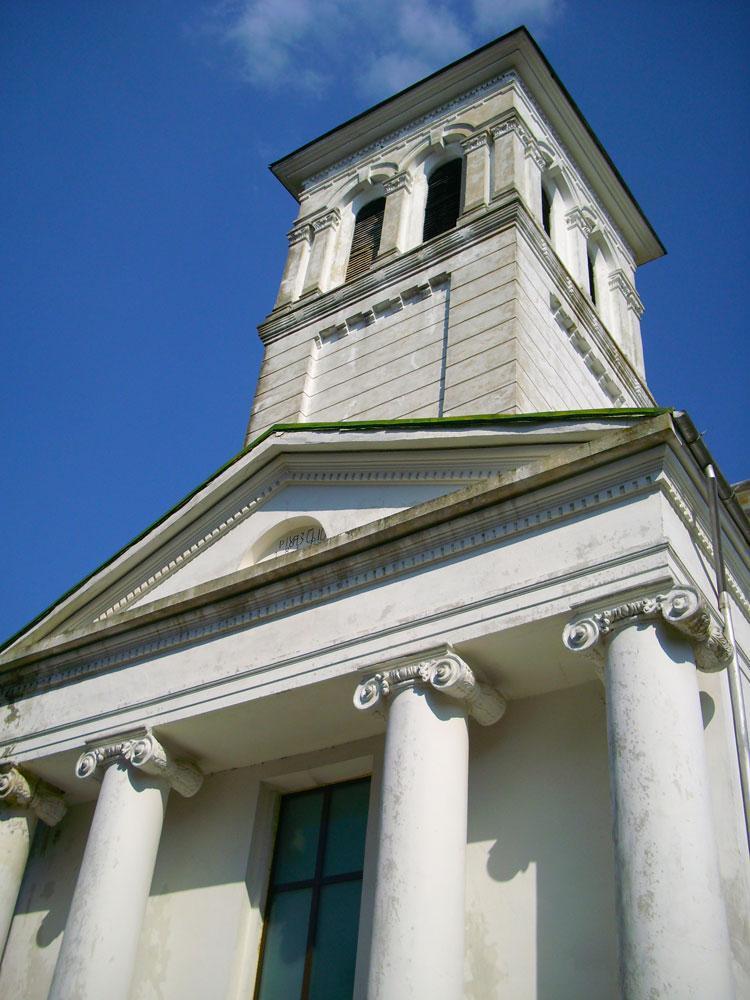 Biserica Ruginoasa - Turla