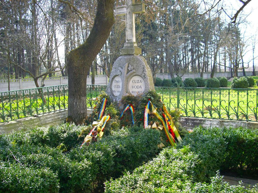 Mormântul Domnitorului Al. I. Cuza Ruginoasa